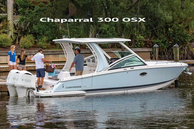 Chaparral Outboards 300 SX Boat At Dealer's Choice Marine Orlando Florida