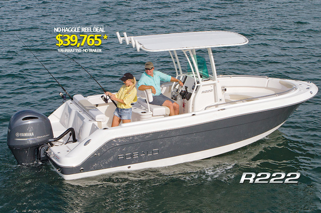 Robalo Fishing Boats At Dealer's Choice Marine Orlando Florida
