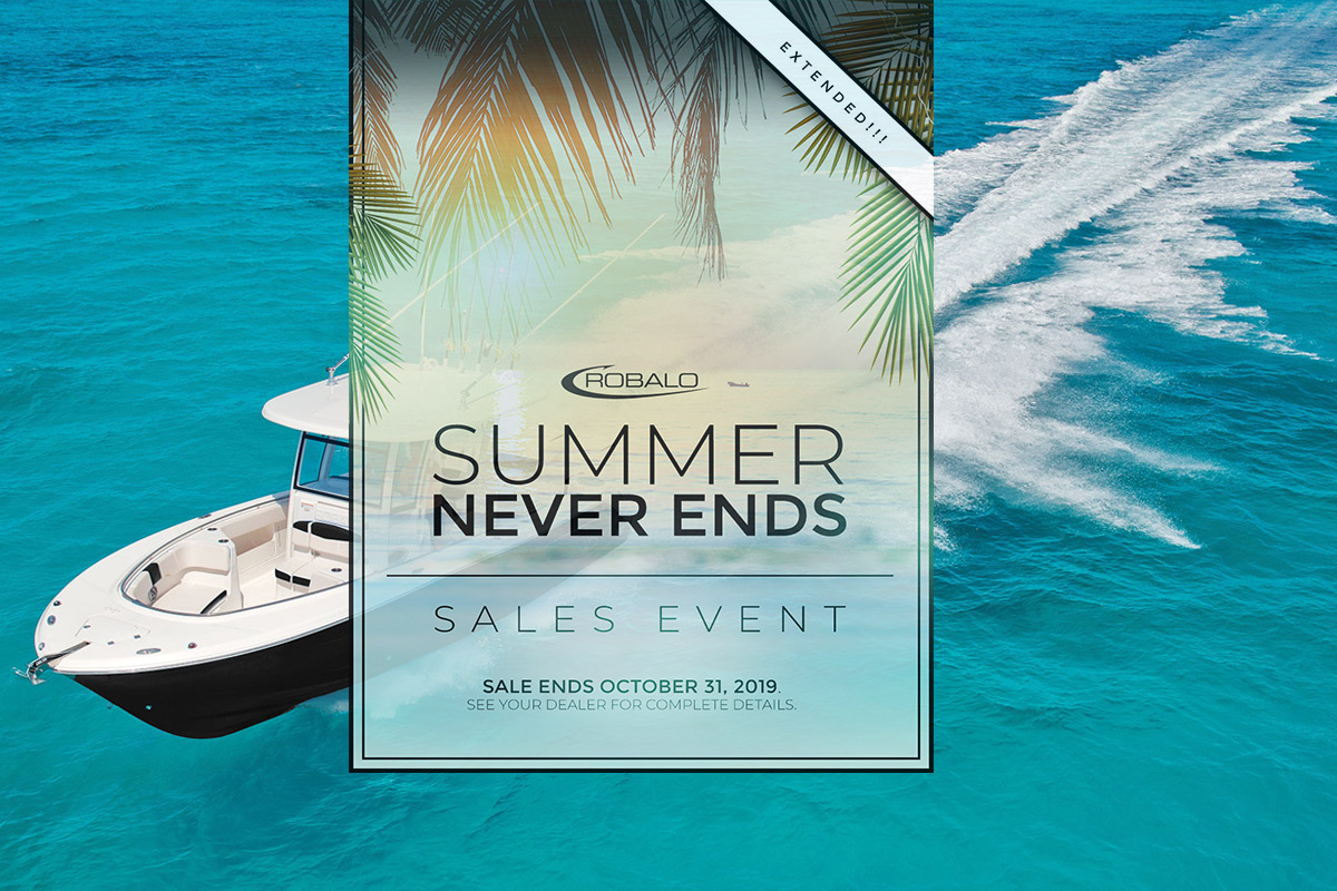 Robalo Summer Sales Event At Dealer's Choice Marine Orlando Florida