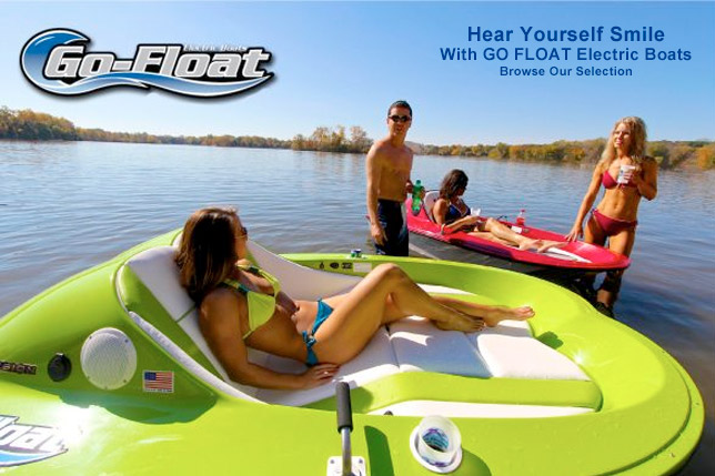 Go Float Electric Boats At Dealer's Choice Marine Orlando Florida