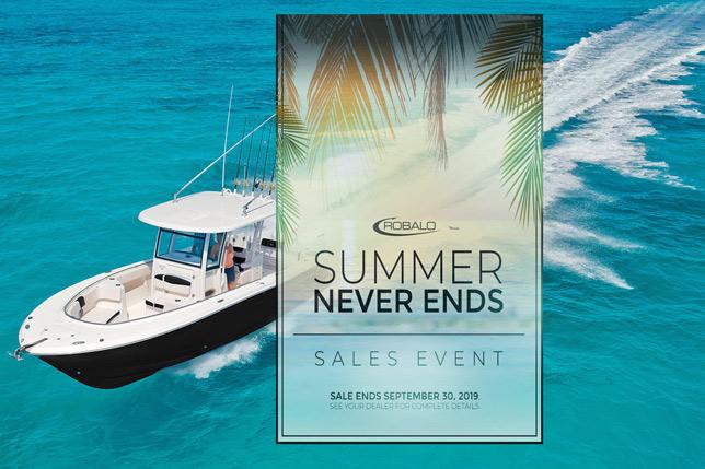 Robalo Summer Sales Event At Dealer's Choice Marine Orlando Florida