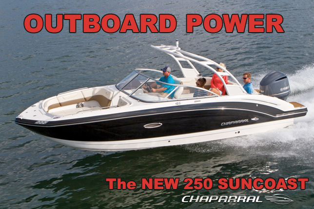 Chaparral Outbopards Boats At Dealer's Choice Marine Orlando Florida