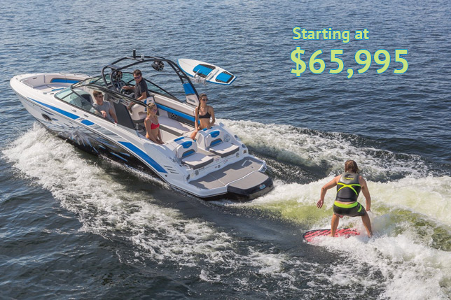 Chaparral Boats At Dealer's Choice Marine Orlando Florida