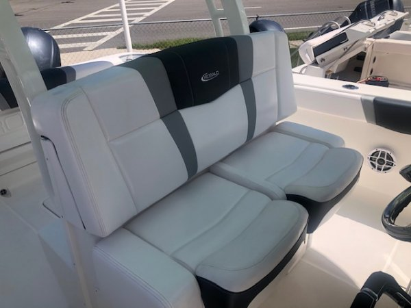 Today's anglers demand more from a new fishing boat than just the bare bones basics of yesteryear and Robalo delivers with user-friendly cabin layouts, plush interiors and multi-purpose seating arrangements.