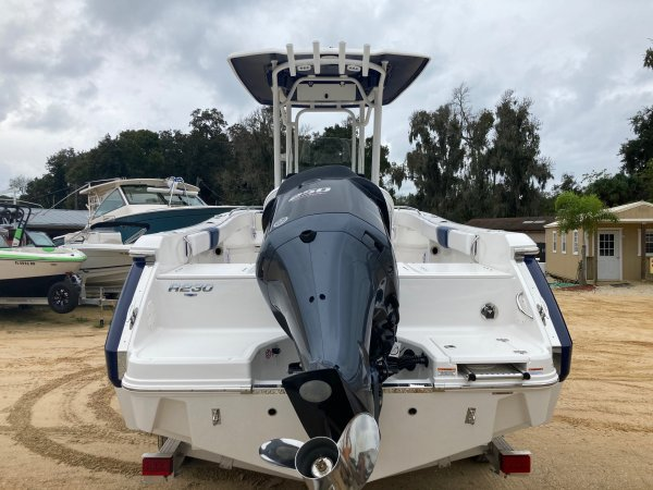 A ROBALO 230 Center Console is a Power and could be classed as a Center Console, Fish and Ski, Freshwater Fishing, High Performance, Saltwater Fishing, Wakeboard Boat, Skiff,  or, just an overall Great Boat!