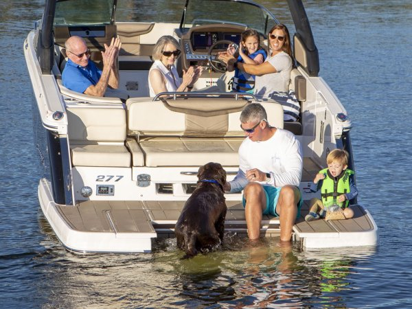 Is your family being pulled in different directions? Whether it's fishing, tubing, skiing or just cruising along enjoying the scenery, there are few forms of recreation that offer families the chance to reconnect like a day spent together on the water.